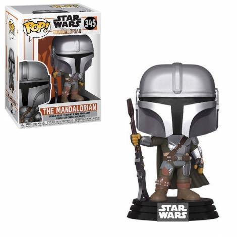 Funko POP! Star Wars: Mandalorian - The Mandalorian (Final) (MT) #345Vinyl Figure