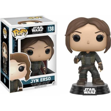 Funko Pop! Star Wars: Rogue One - Jyn Erso #138 Bobble-Head Figure