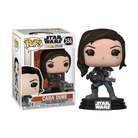 Funko POP! Star Wars : The Mandalorian - Cara Dune With Gun (Special Edition) #356 Bobble-Head Vinyl Figure