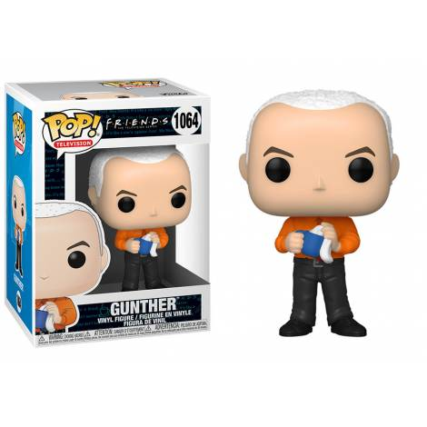 Funko POP! Television: Friends - Gunther in Vest with Chase #1064 Vinyl Figure