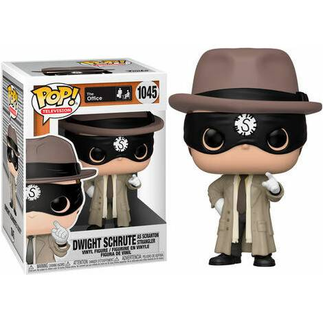 Funko POP! Television : The Office - Dwight Schrute As The Scranton Strangler #1045 Vinyl Figure