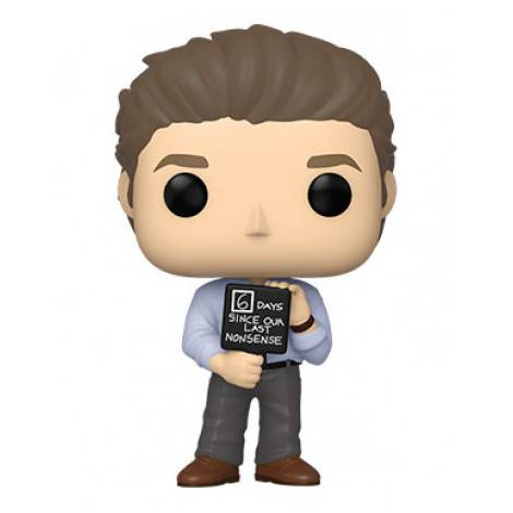 Funko POP! Television: The Office - Jim with Nonsense Sign #1046 Vinyl Figure