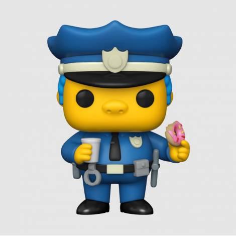 Funko POP! Television: The Simpsons - Chief Wiggum #899 Vinyl Figure (52946)