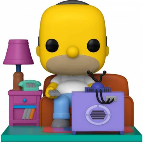 Funko Pop! Television: The Simpsons - Couch Homer (Watching TV) (15cm) #909 Vinyl Figure (52945)