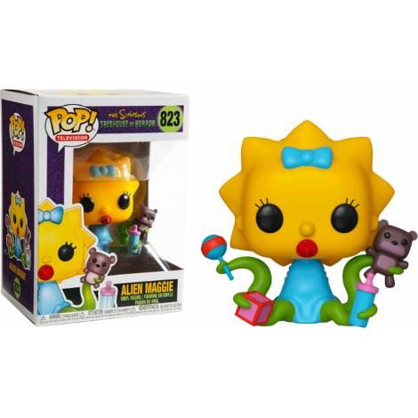 Funko POP! Television: The Simpsons Treehouse of Horror S3 - Alien Maggie #823 Vinyl Figure
