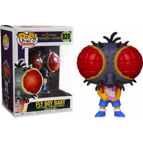 Funko POP! Television: The Simpsons Treehouse of Horror S3 - Fly Boy Bart #820 Vinyl Figure
