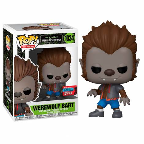 Funko Pop! Television : The Simpsons Treehouse Of Horror - Werewolf Bart #1034 (Exlusive Limited Edition)