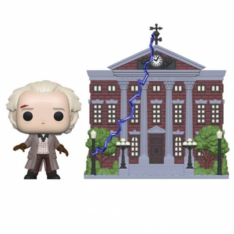 Funko POP! Town: Back to the Future S4 Doc w/Clock Tower # Vinyl Figure