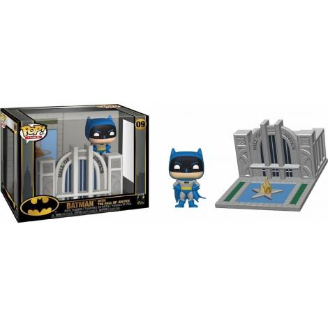 Funko POP! Town Batman 80th - Hall of Justice w/Batman #09 Vinyl Figure