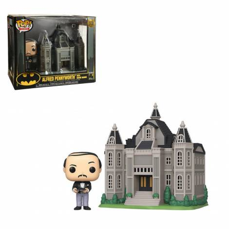 Funko POP! Town: Batman 80th - Wayne Manor W/Alfred #13