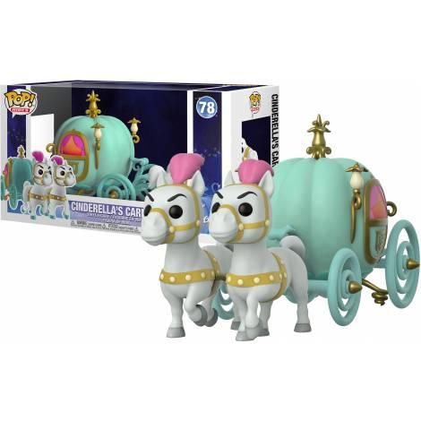 Funko POP! Town: Cinderella - Carriage W/Fairy Godmother #78