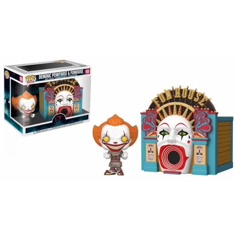 Funko POP! Town: IT 2-Demonic Pennywise w/Funhouse IT Chapter 2 Balloon 15 Collectible Toy #10