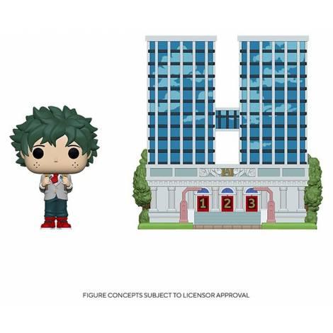 Funko POP! Town: My Hero Academia S6- U.A. High School w/Deku in Uniform # Vinyl Figure