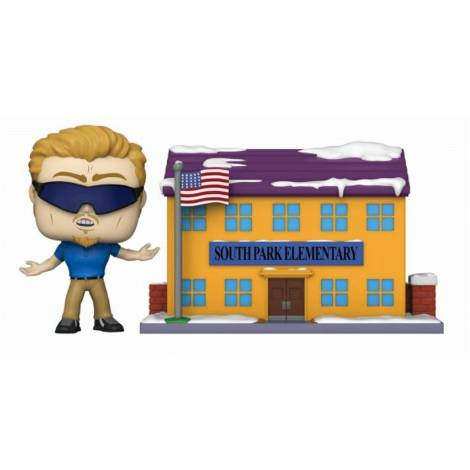 Funko POP! Town: South Park Elementary with PC Principal Vinyl Figure (51632)