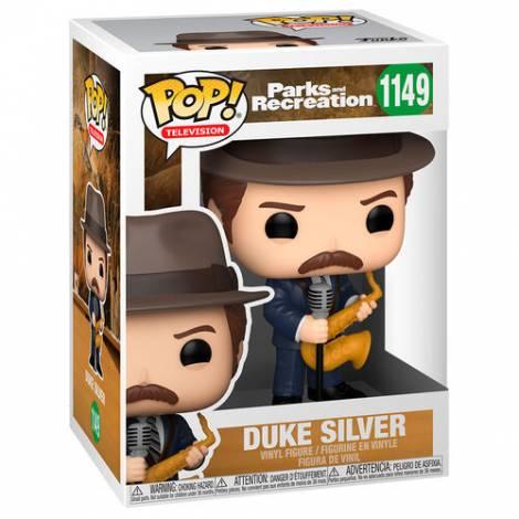 Funko POP TV: Parks & Rec- Duke Silver #1149 Vinyl Figure