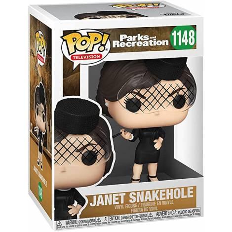 Funko POP TV: Parks & Rec- Janet Snakehole #1148 Vinyl Figure