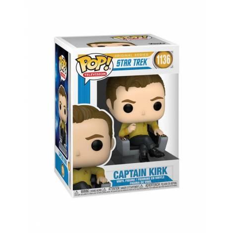Funko POP! TV: Star Trek- Cap Kirk in Chair #1136 Vinyl Figure