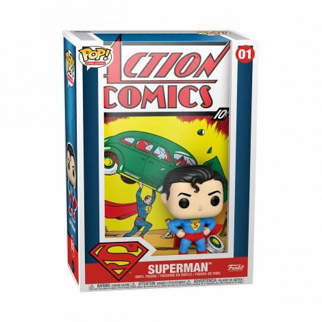 Funko POP! Vinyl Comic Cover: DC - Superman Action Comic #01 Vinyl Figure