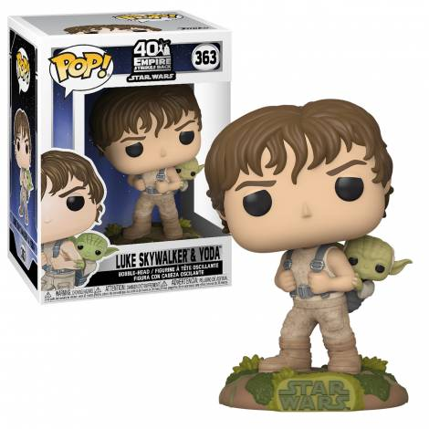 Funko POP! Vinyl: Star Wars - Training Luke with Yoda #363 Vinyl Figure