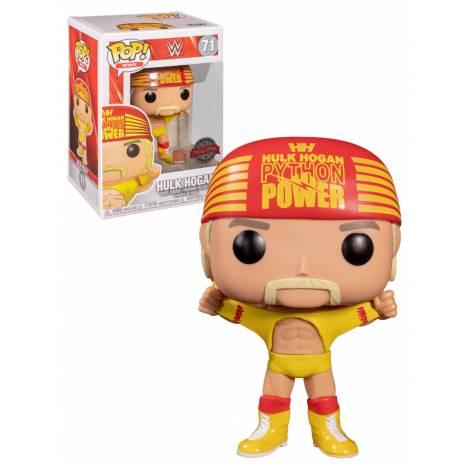 Funko POP! WWE - Hulk Hogan #71 (Special Edition) Vinyl Figure
