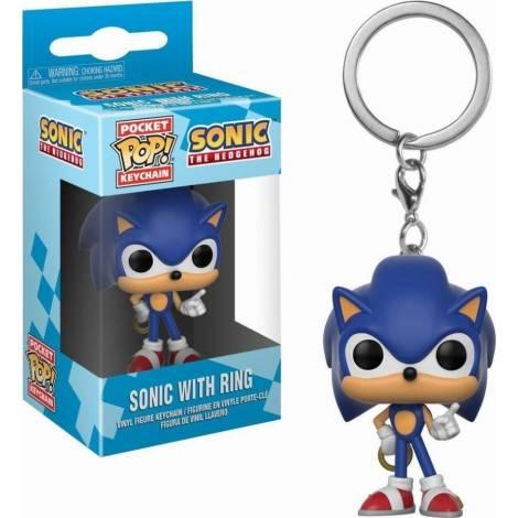 Funko Sonic Μπρελόκ Sonic (Ring Pocket POP!)