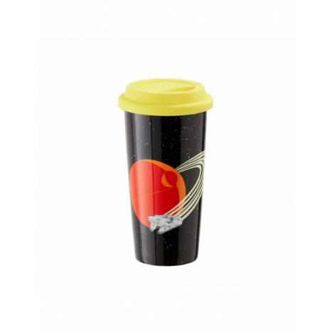 Funko Star Wars: Retro - Millennium Falcon Lidded Mug (UT-SW06331)