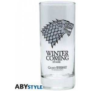Game Of Thrones Stark Winter Is Coming Glass (ABYVER009)