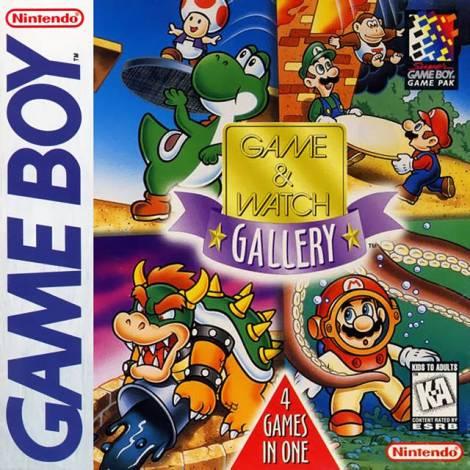 Game & Watch Gallery - χωρίς κουτάκι (GAME BOY)