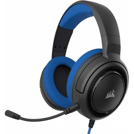 Gaming Headset CORSAIR HS35 Blue (CA-9011196-EU)
