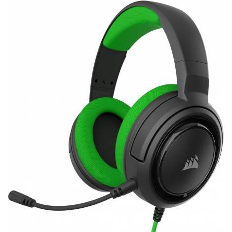 Gaming Headset CORSAIR HS35 Green  (CA-9011197-EU)