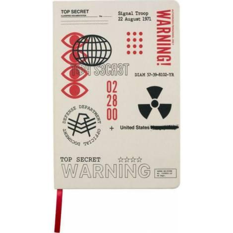 Gaya Entertainment Σημειωματάριο Ριγέ A5 Cold War - Top Secret Documents (GE4254)