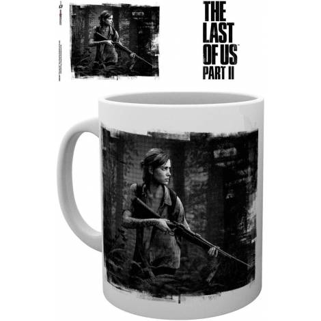 GB Eye The Last of Us Part 2 - Black and White Ellie Art 300ml Mug (MG3549)
