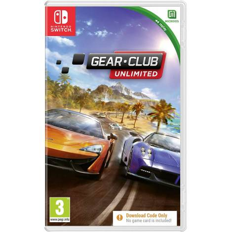 Gear.Club Unlimited Replay (Code in a Box) (Nintendo Switch)