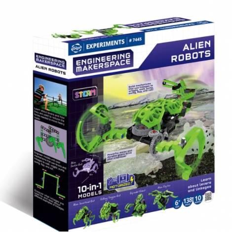 Gigo Engineering Makerspace Alien Robots (407445)