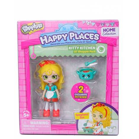 Giochi Preziosi Happy Places Shopkins - Kitty Kitchen - Spaghetti Sue (56323)