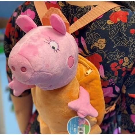 Giochi Preziosi: Peppa Pig λούτρινο backpack - Mummy (470676)