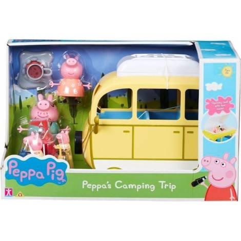 Giochi Preziosi Peppa Pig: Peppas Camping Trip Playset (PPC46000)