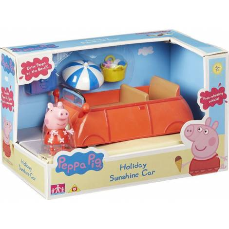Giochi Preziosi Peppa Pig: Το Αυτοκινητο Διακοπων Της Πεππα (PPH11000)