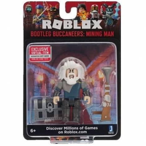 Giochi Preziosi Roblox: Bootleg Buccaneers - Mining Man Core Figure Pack (RBL15000)