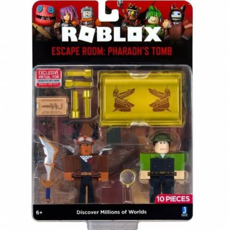 Giochi Preziosi Roblox: Escape Room - Pharaoh's Tomb Game Pack (RBL37000)