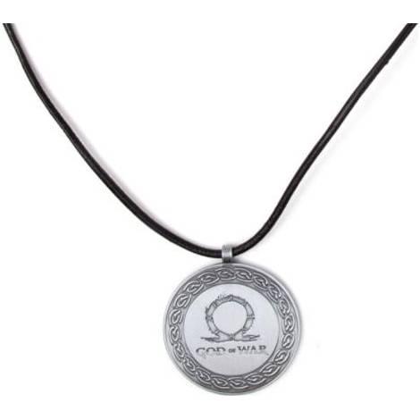 God of War - Logo Necklace (JE786604GDW) ( Zinc Alloy)