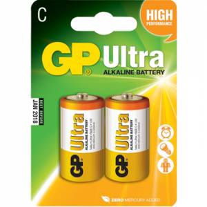 GP ULTRA ALKALINE C - 2 PACK - GPAU14-2U2
