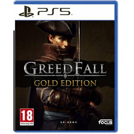 GREEDFALL GOLD  EDITION (PS5)