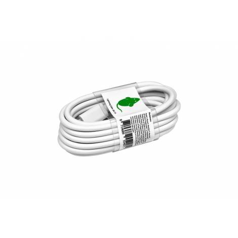 Green Mouse  USB-Lightning  Cable 2m  (Λευκό)