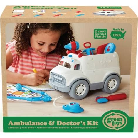 Green Toys: Ambulance & Doctor'S Kit (AMDK-1313)