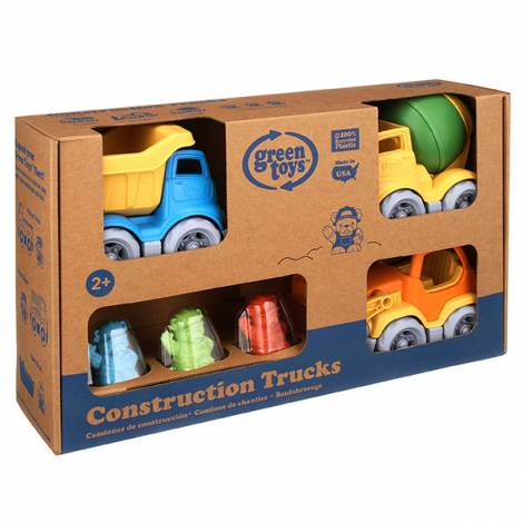 Green Toys: Construction Vehicle - 3 Pack  (CST3-1209)