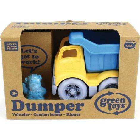 Green Toys: Dumper Construction Truck - Blue/Yellow (CDPB-1262)