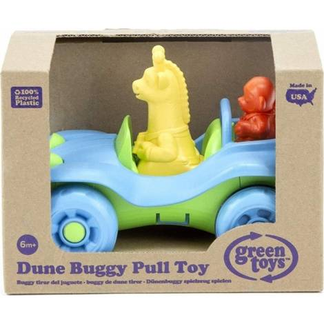 Green Toys: Dune Buggy Pull Toy - Blue (PTDB-1308)