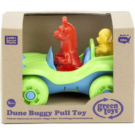 Green Toys: Dune Buggy Pull Toy - Green (PTDA-1309)