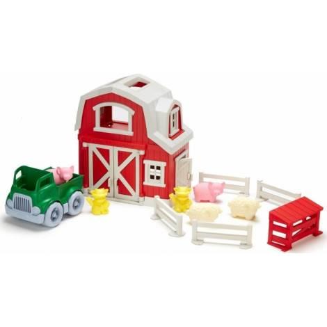 Green Toys: Farm Playset (PFRM-1158)